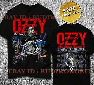 Ozzy Osbourne T-shirt No More Tour 2020 Rock Music Concert Tee Size S-5XL