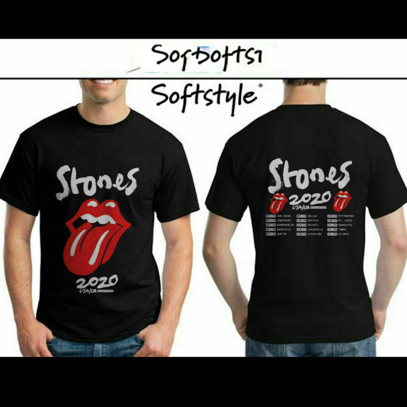 The Rolling Stones USA-CA No Filter Tour 2020 Concert T Shirt S-3XL