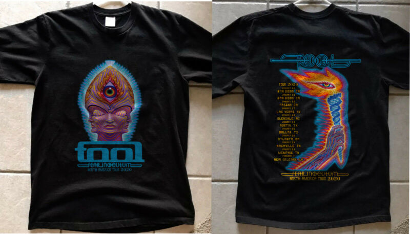 New Exclusive TOOL Band Fear Inoculum Concert Tour Dates 2020 Ticket New t-shirt