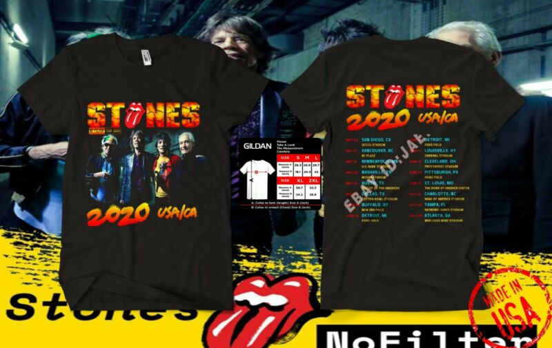 NEW The Rolling Stones t Shirt No Filter Tour 2020 T-Shirt Size S-4XL