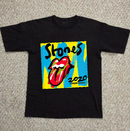 Rare The Rolling Stones No Filter Tour 2020 T-Shirt Gildan