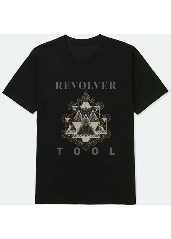 Tool Band Revolver Metal Rock Tour 2020 concert Tour Merch Shirt S-3XL