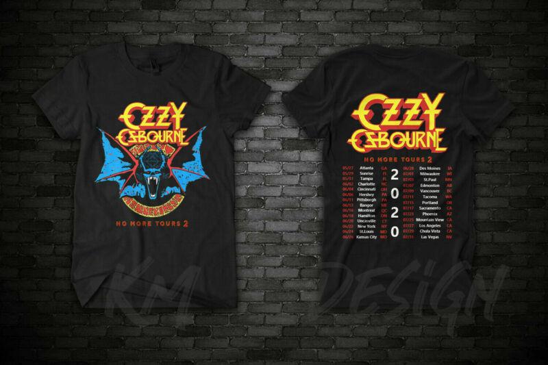 Ozzy-Osbourne-tour-date-t-Shirt-2020-No T-Shirt S-3XL