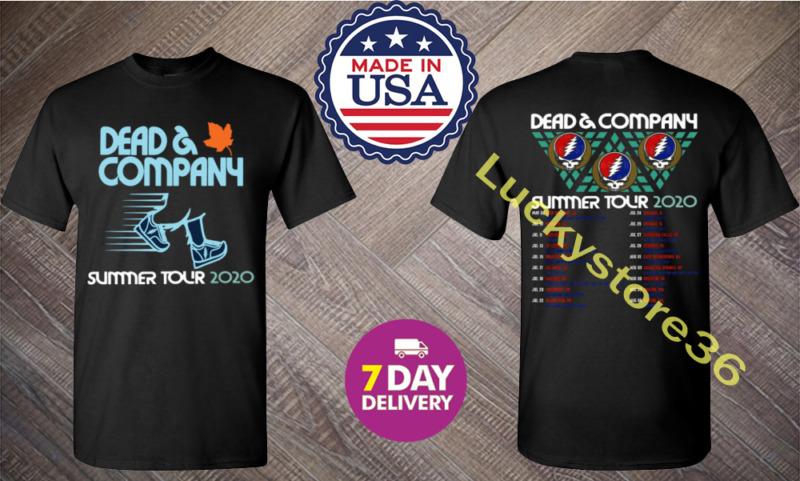Dead And & Company Summer tour 2020 T Shirt Grateful dead Concert S - 3XL.