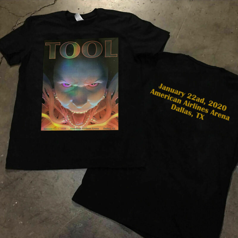 TooL Band Tour 2020 22nd  2020 American Airlines Arena Dallas poster New t-shirt /TooL-Band-Tour-2020-22nd-2020-American-Airlines-254491433796.html