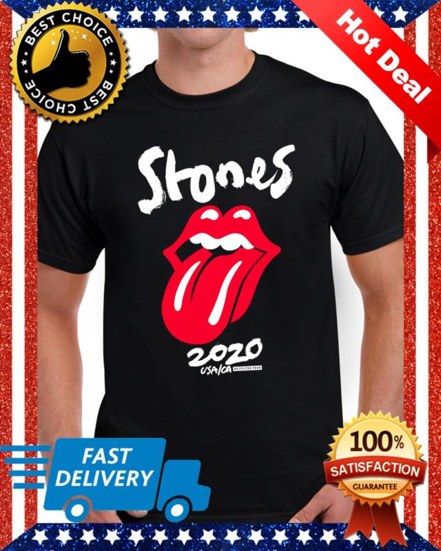 The Rolling Stones USA/CA No Filter Tour 2020 Concert Gildan Cotton T Shirt