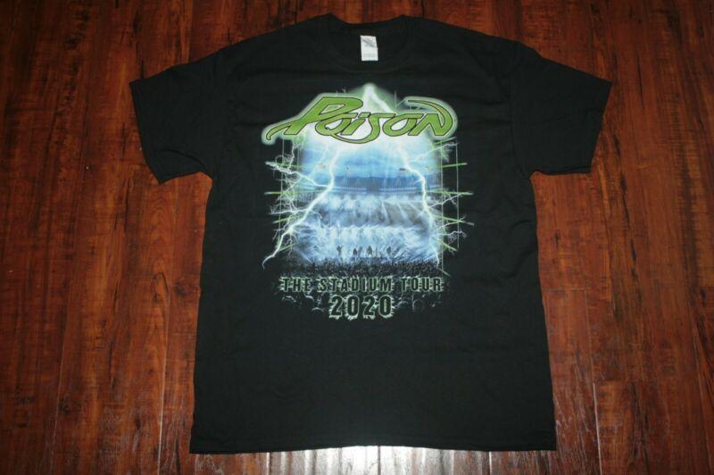 Poison Shirt L 2020 Stadium Tour From Official Site Motley Crue Def Leppard