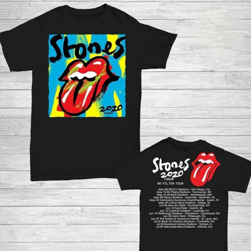 The Rolling Stones t Shirt No Filter Tour 2020 T-Shirt