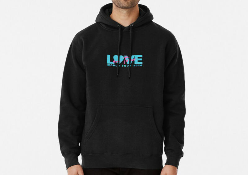 Love On Tour 2020 Pullover Hoodie for Men Women  Harry Styles Unisex Hoodie /Love-On-Tour-2020-Pullover-Hoodie-for-Men-223935869367.html