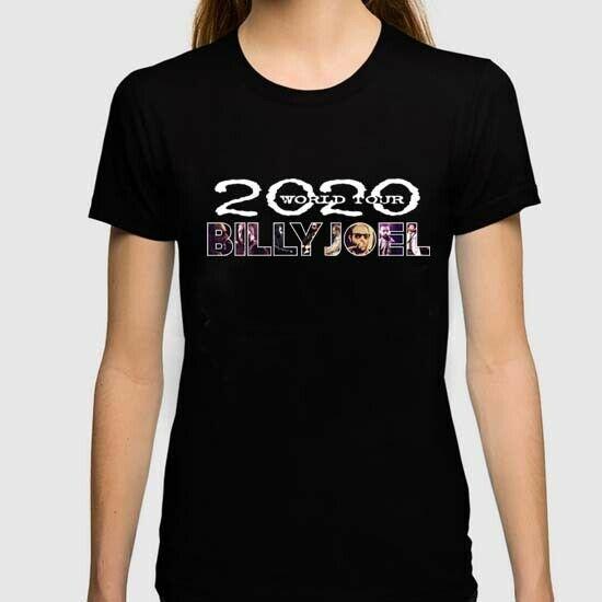 Billy Joel Tour 2020 Tshirt New Womens Tee T-Shirt