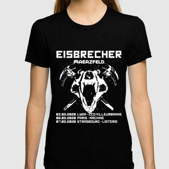 Eisbrecher Band Tour 2020 - Paris - Ile de France New Womens T-Shirt