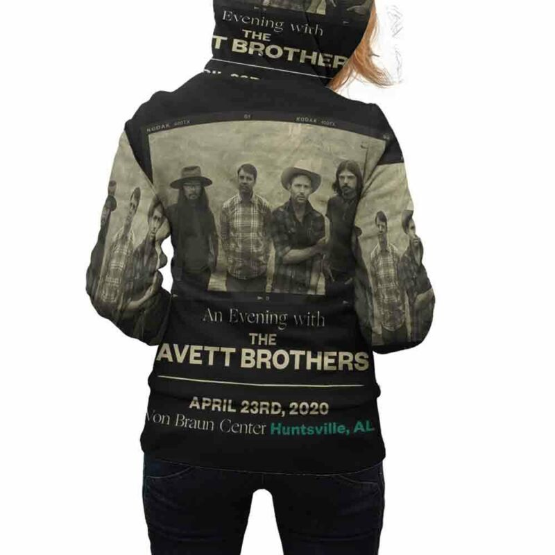 Avett Brothers Tour 2020 Hoodie Fullprint New Womens Hoodie Zipper