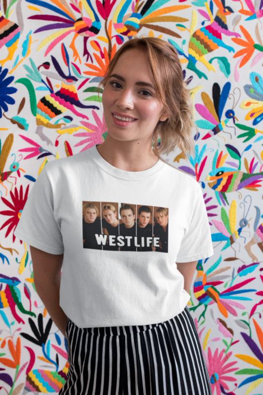 Westlife Photo Retro Vintage Style 2020 Tour T-shirt Twenty Tour