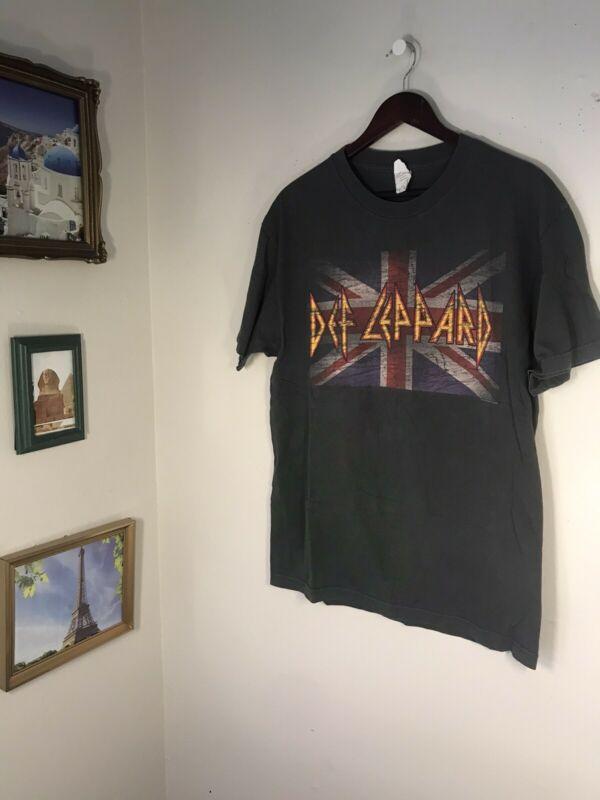 DEF LEPPARD 2006 Rock Brigade Tour T-Shirt L Authentic / 2020 Stadium Tour