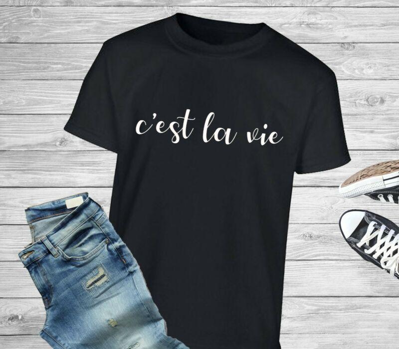 Cest La Vie Slogan Statement Pop Music Festival Tour 2020 B*Witched T-Shirt/Tee