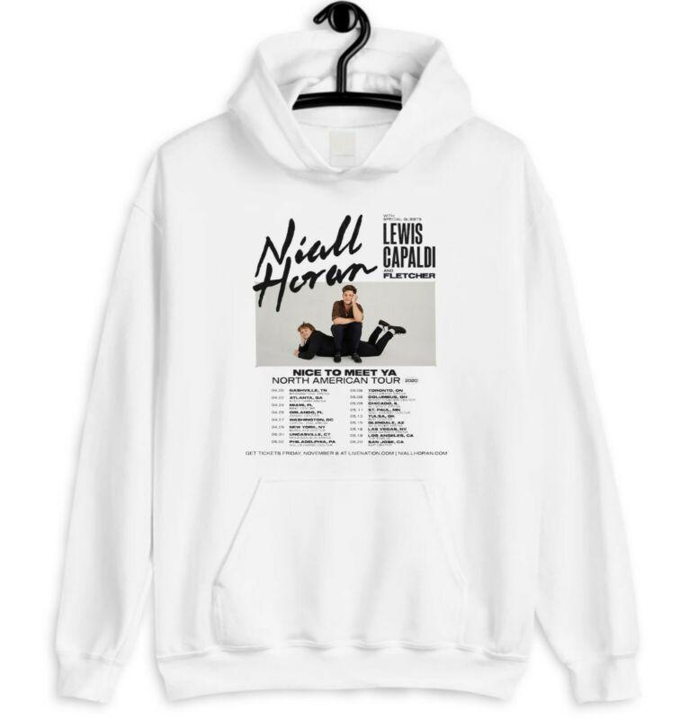 NIALL HORAN Nice To Meet Ya North American Tour 2020 - White Hoodie