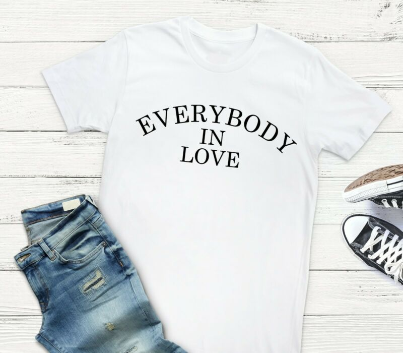 Everybody In Love JLS Song Lyrics Pop Music Festival Tour 2020 T-Shirt/Tee