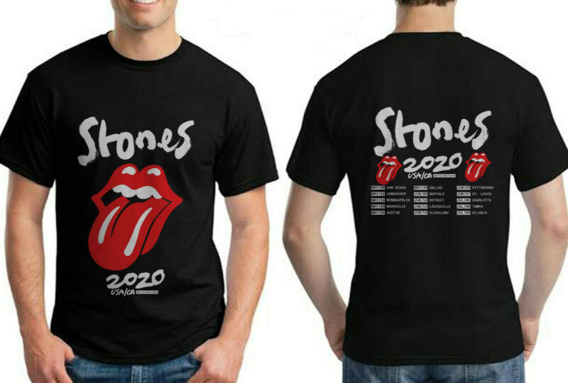 The Rolling Stones USA/CA No Filter Tour 2020 Event Concert Merch T Shirt