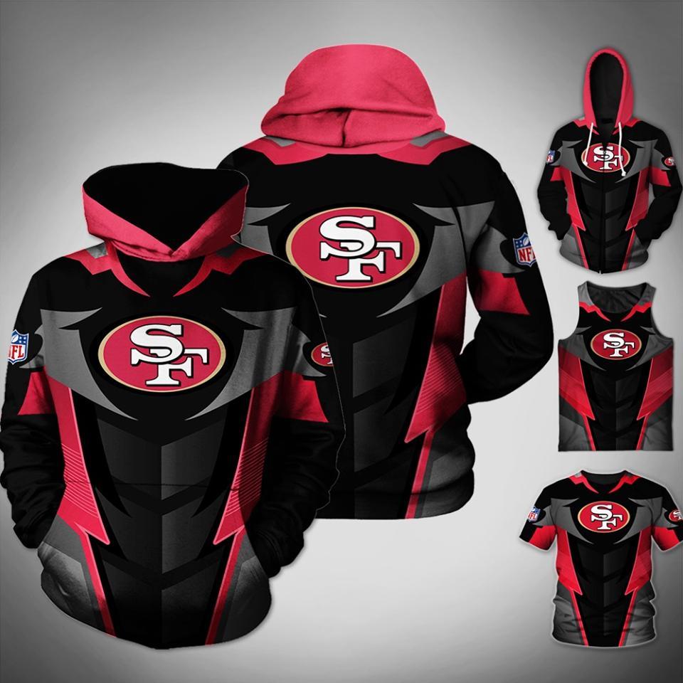 San Francisco 49ers Nfl Fan 3d Hoodie