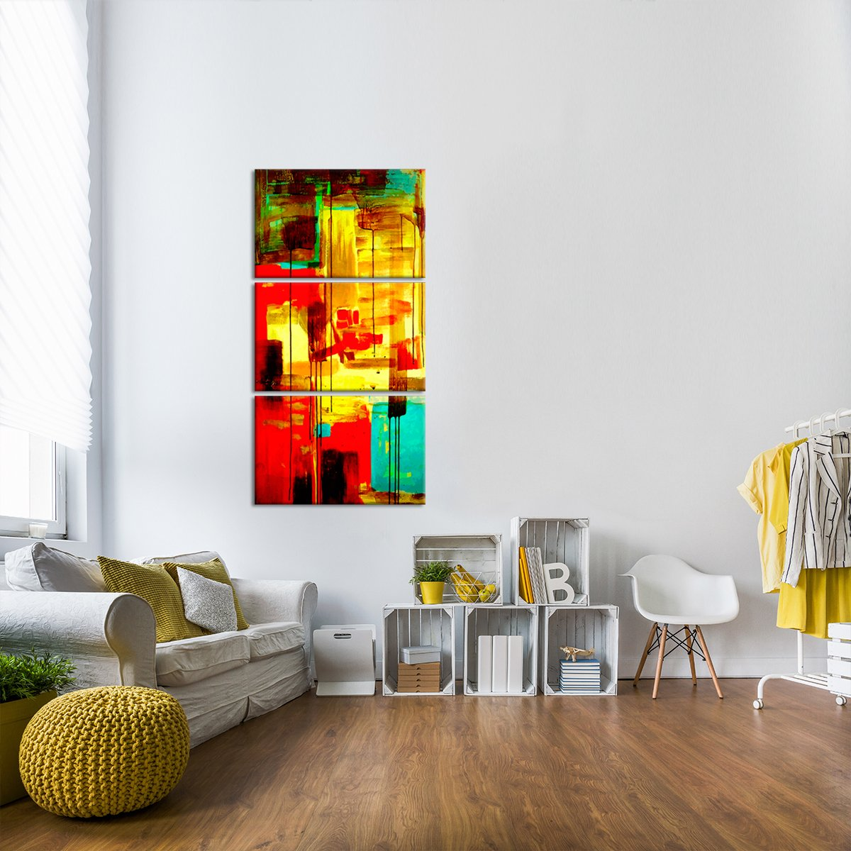 Composition By Greg Multi Panel Canvas Wall Art
