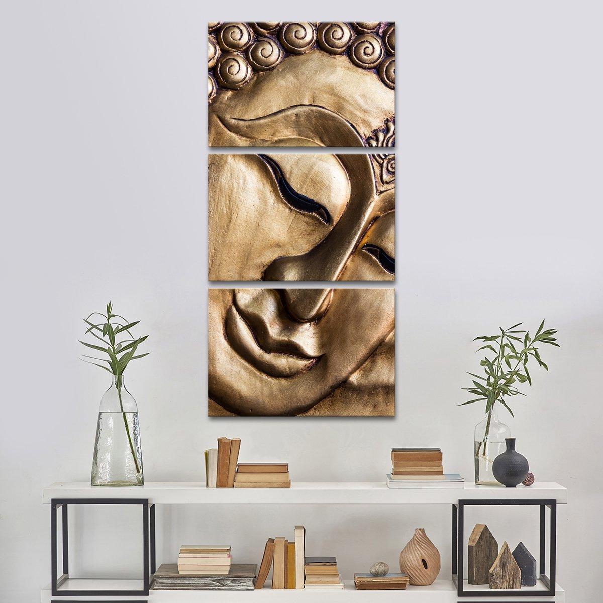 Traditional Buddha Multi Panel Canvas Wall Art