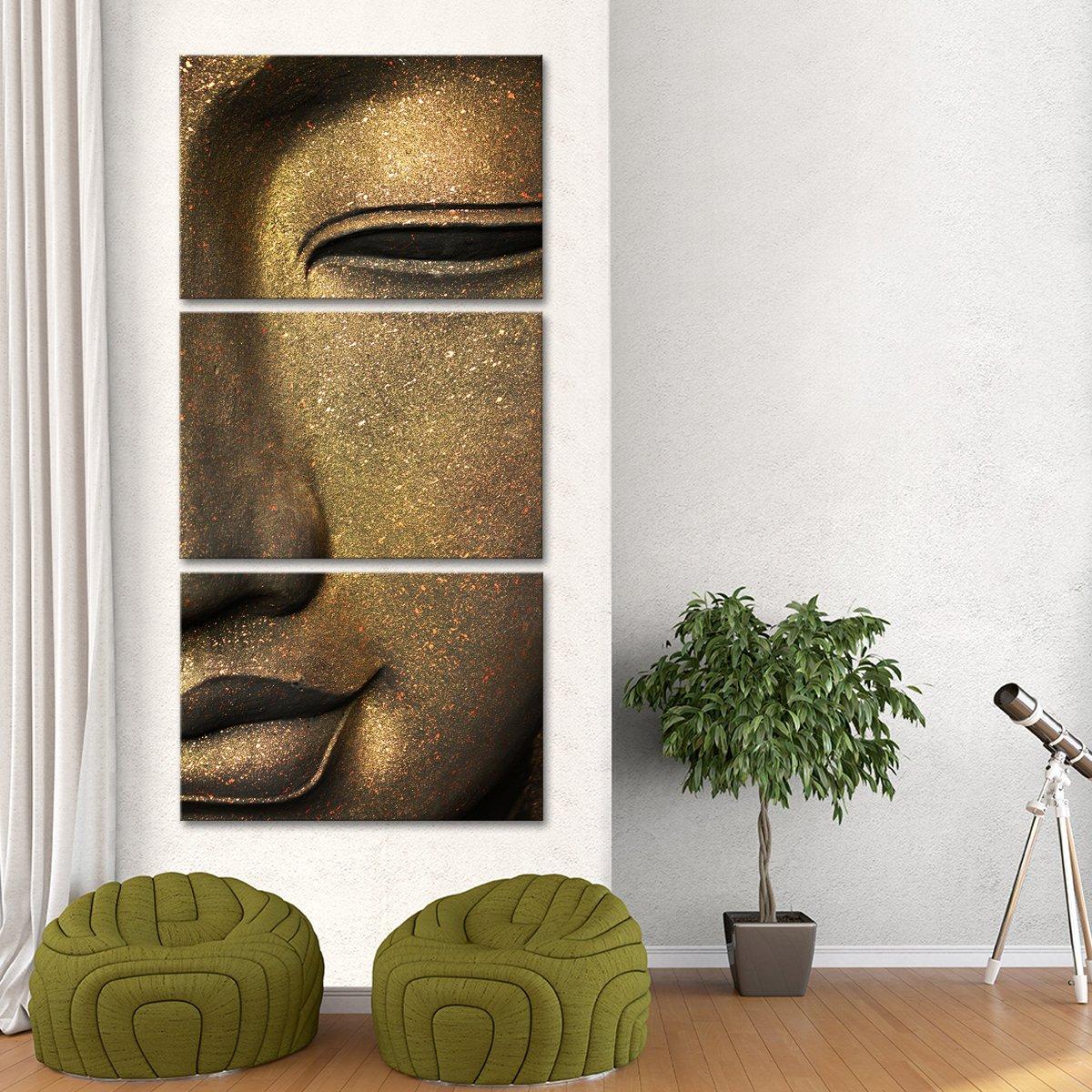 Luminous Buddha Multi Panel Canvas Wall Art