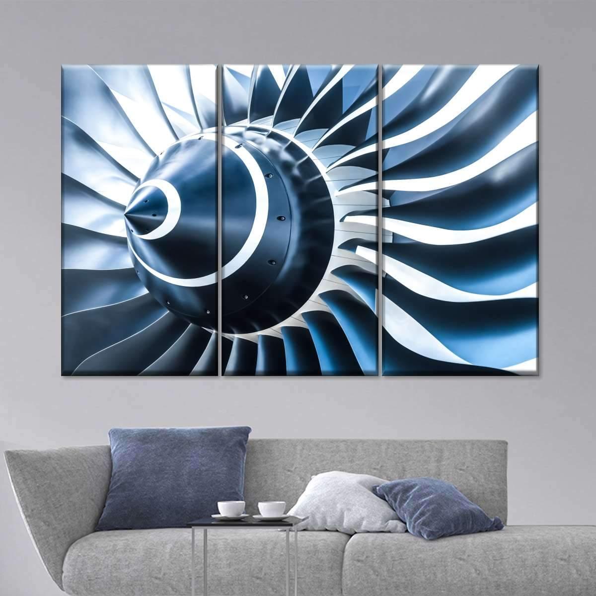 Engine Blade Multi Panel Canvas Wall Art