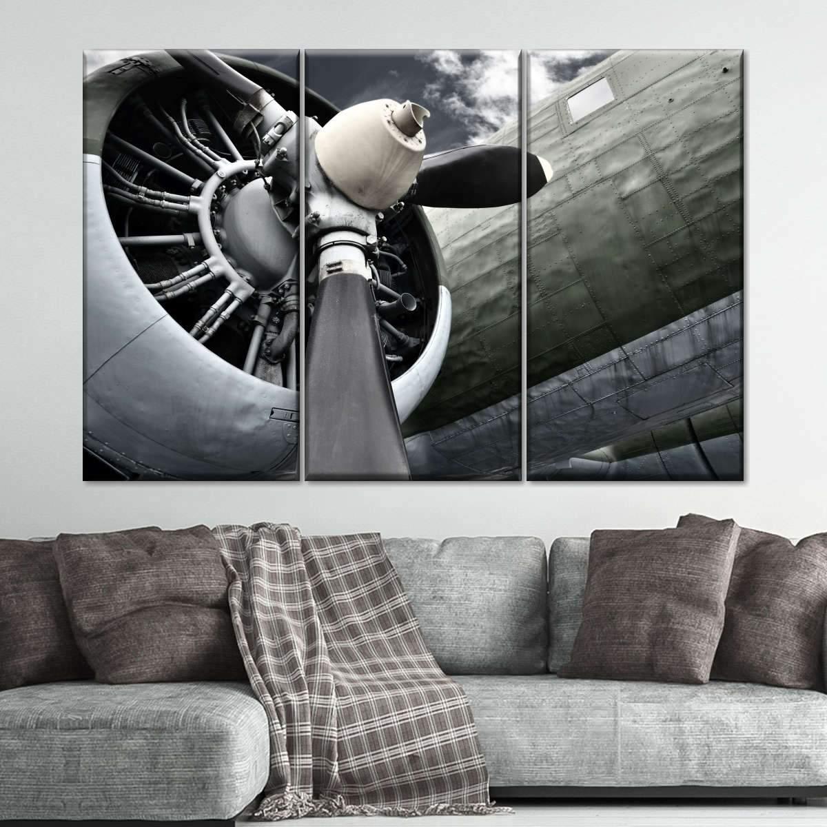 Engine Power Multi Panel Canvas Wall Art