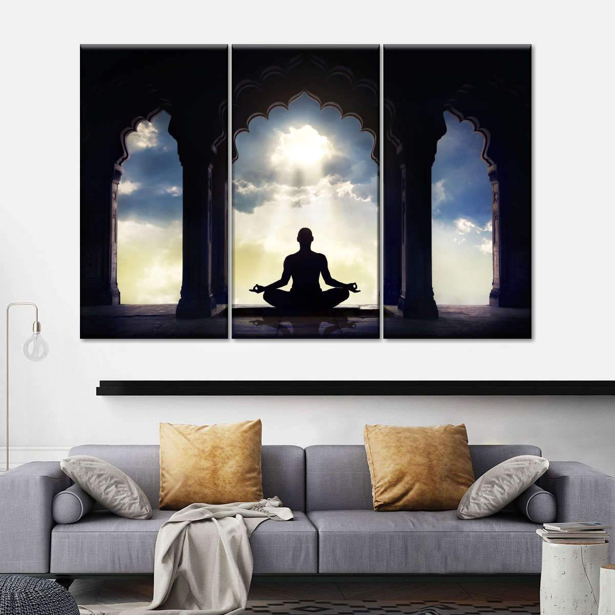Meditation Multi Panel Canvas Wall Art