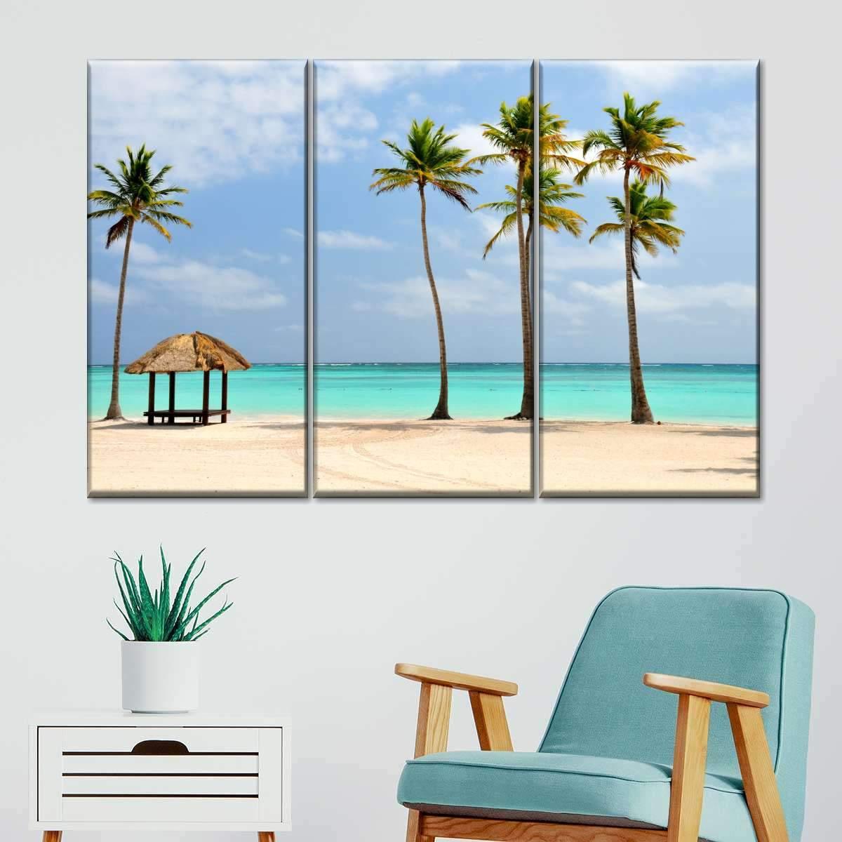 Dominican Republic Paradise Multi Panel Canvas Wall Art