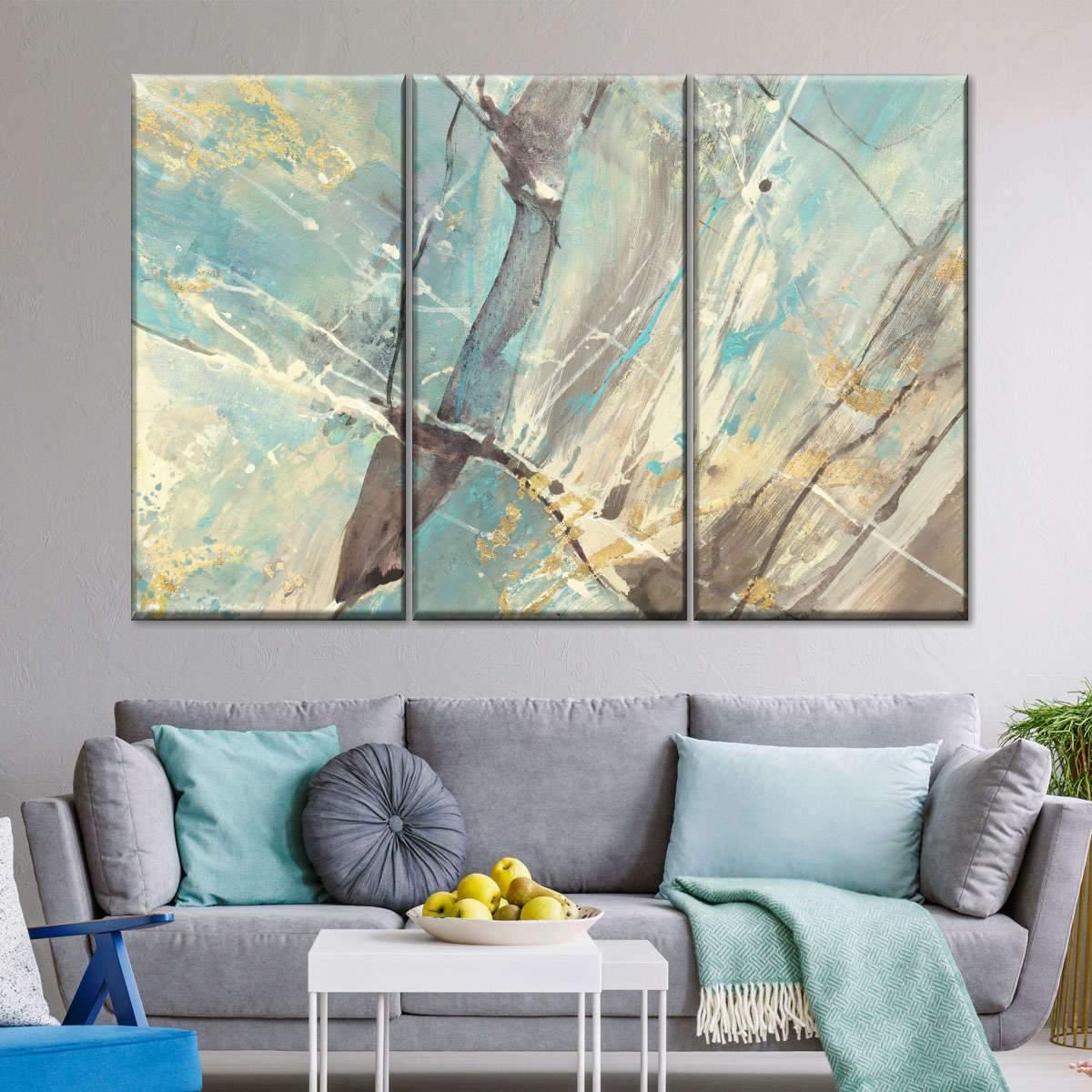 Blue Water II Multi Panel Canvas Wall Art