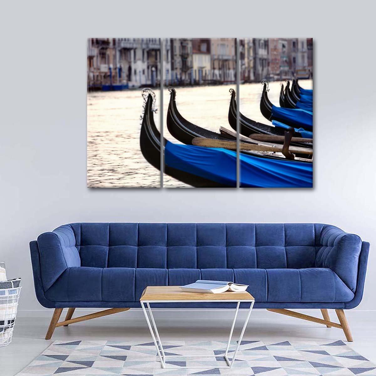 Gondola Ride Multi Panel Canvas Wall Art