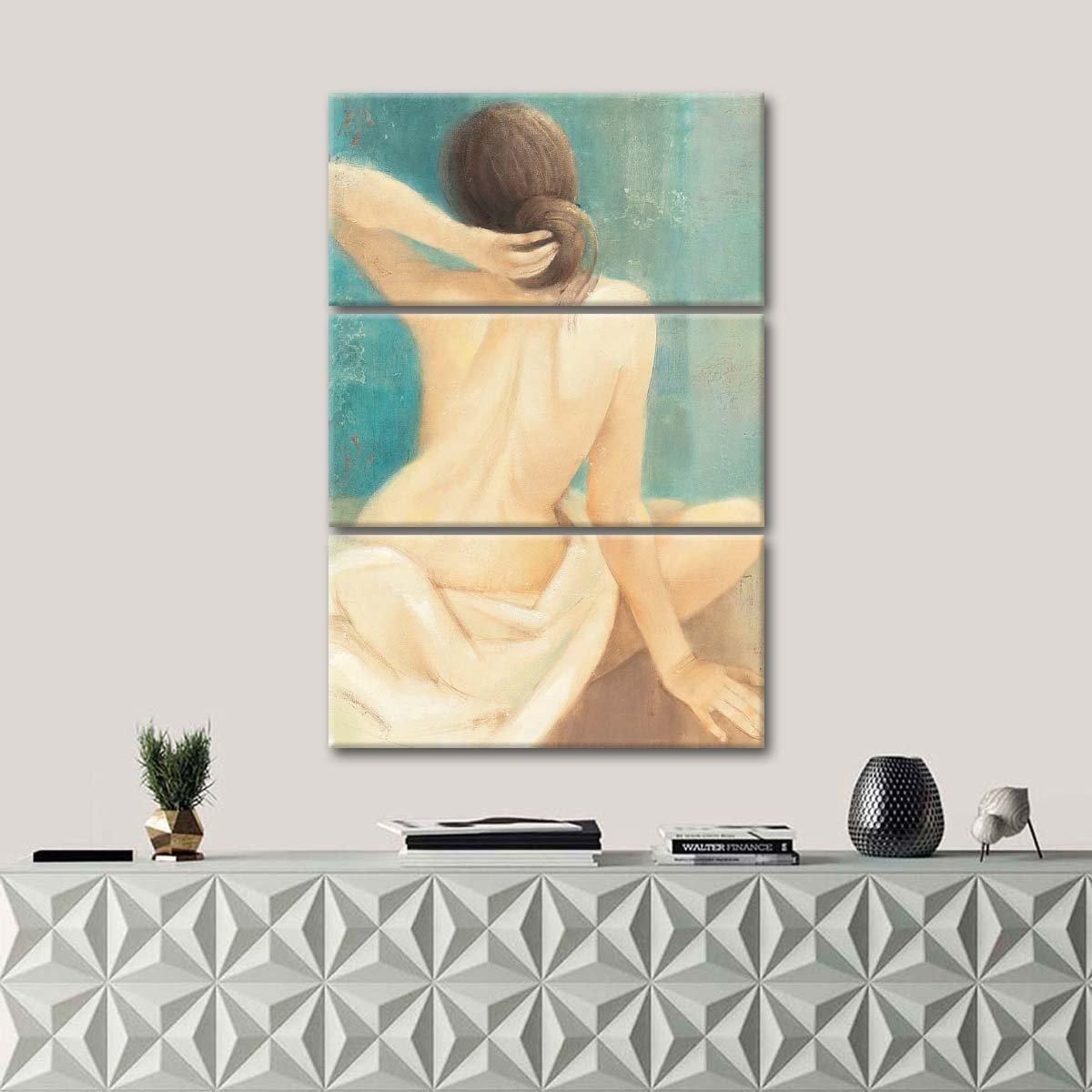 Thoughtfulness I Multi Panel Canvas Wall Art