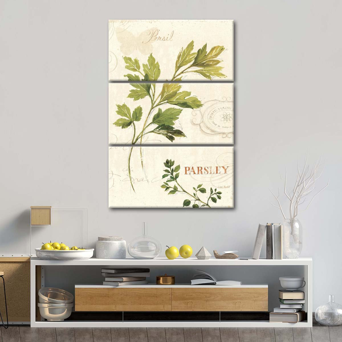 Aromantique I Multi Panel Canvas Wall Art