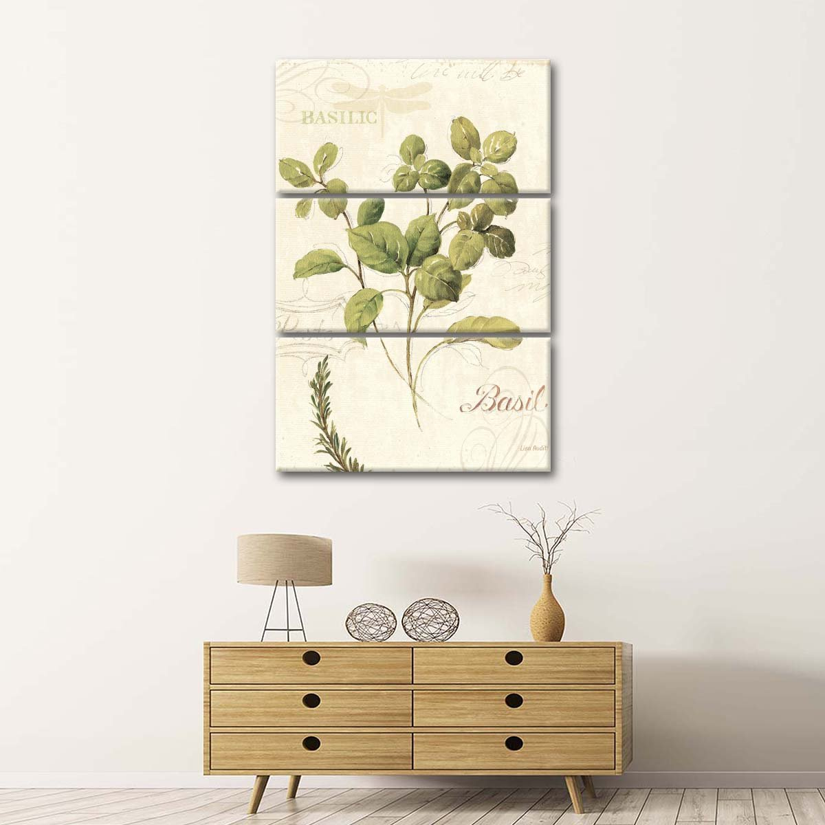 Aromantique III Multi Panel Canvas Wall Art