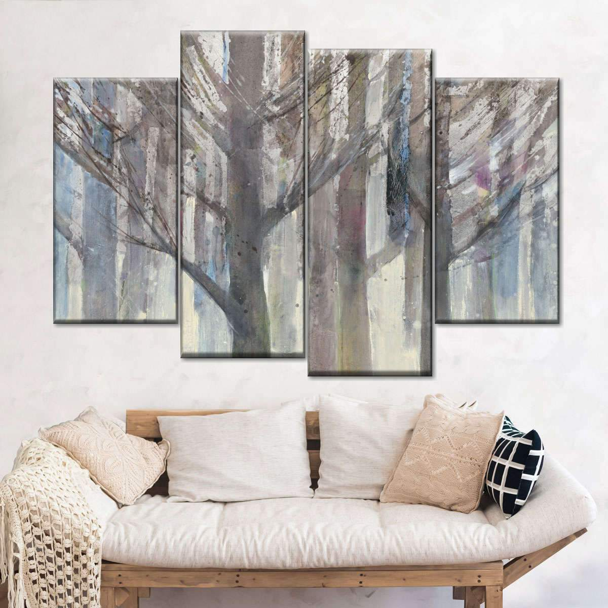 Forest Light Multi Panel Canvas Wall Art