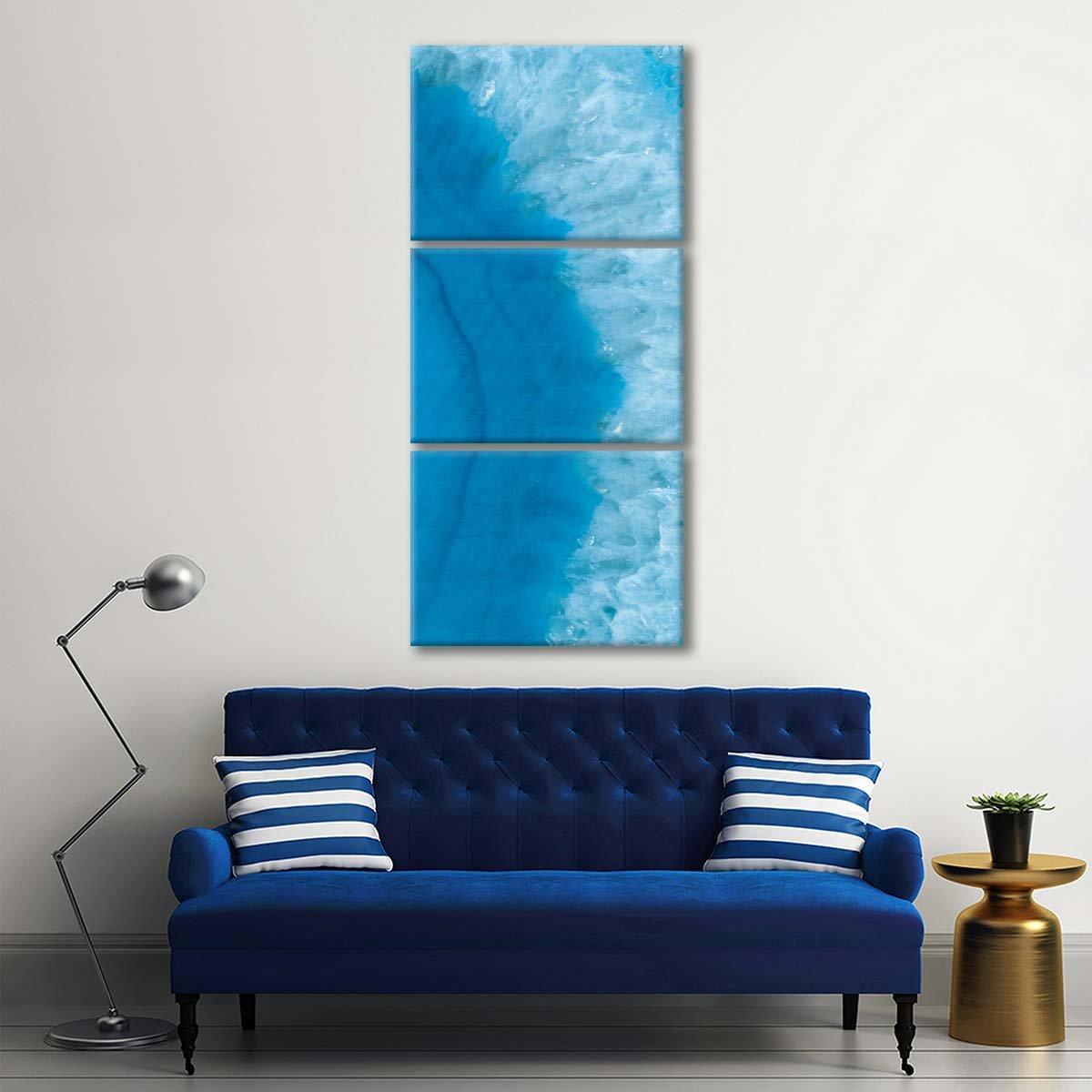 Agate Geode II Multi Panel Canvas Wall Art