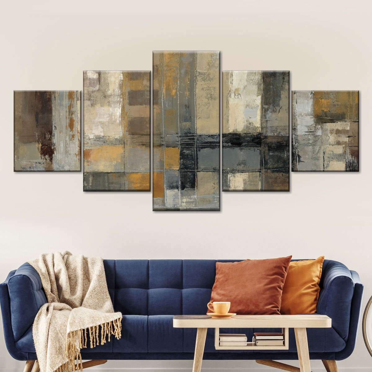 One Way Street Multi Panel Canvas Wall Art