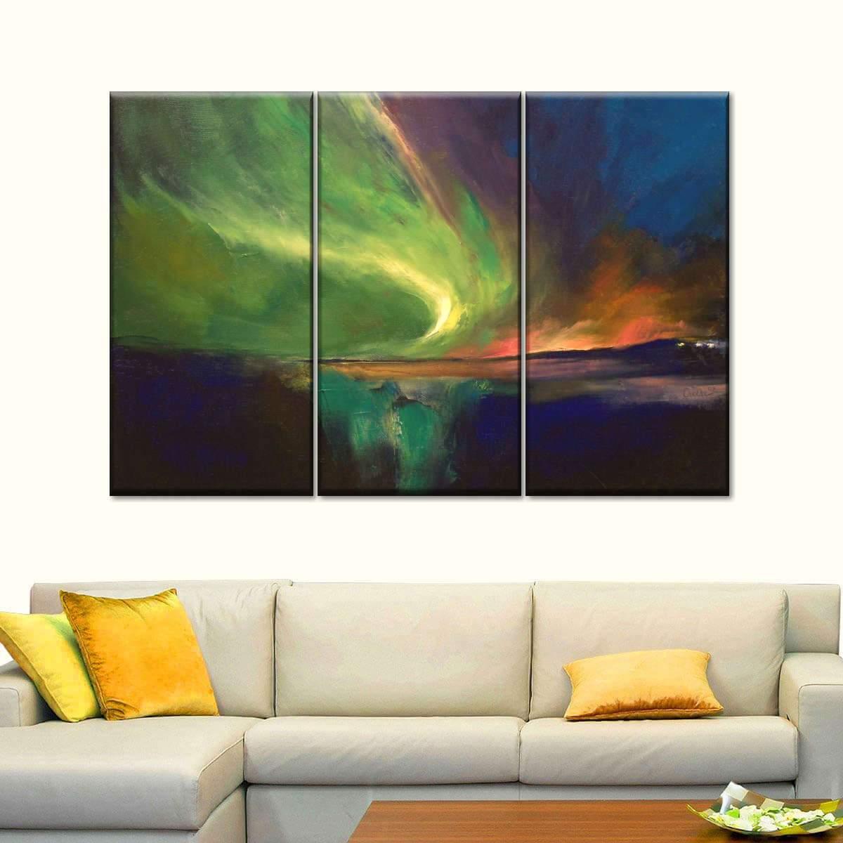 Aurora Borealis Vision Multi Panel Canvas Wall Art