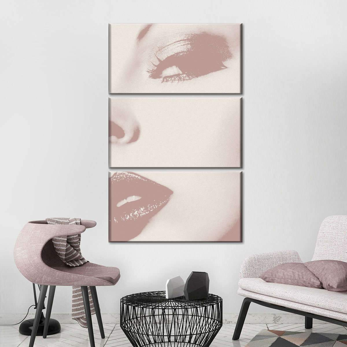 This Way Multi Panel Canvas Wall Art