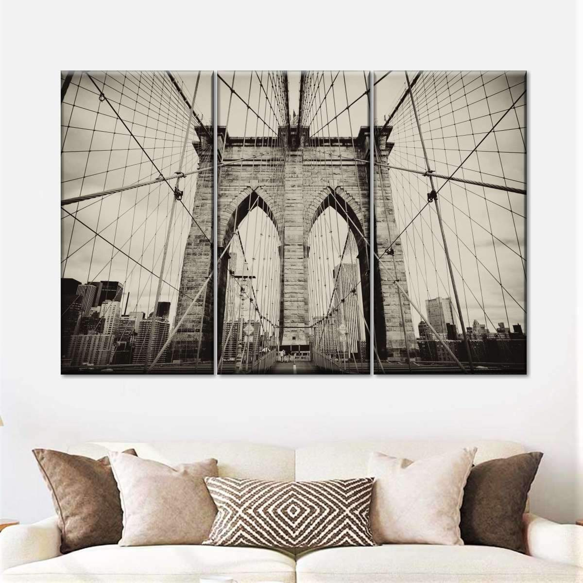 Brooklyn Bridge Multi Panel Canvas Wall Art
