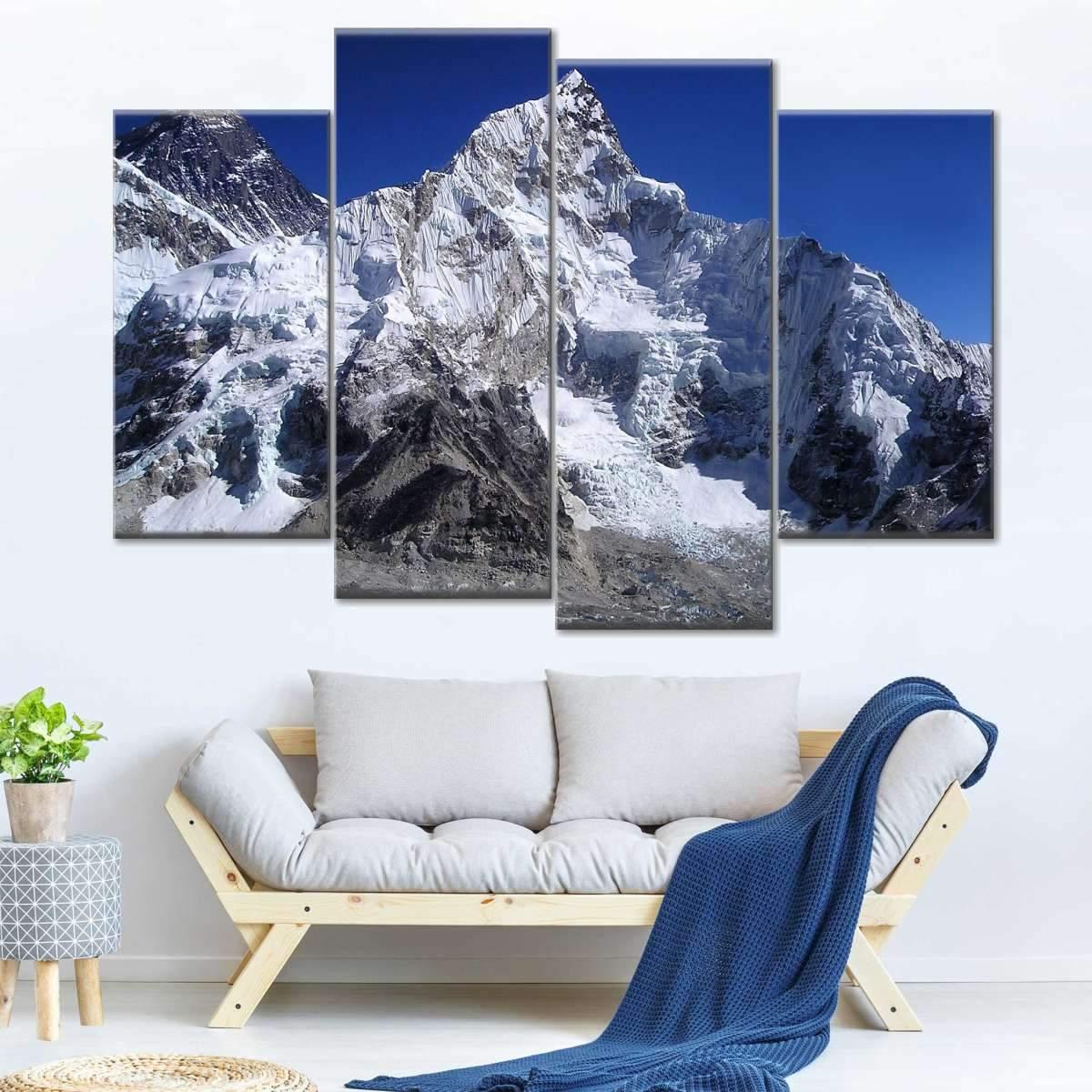 Everest Multi Panel Canvas Wall Art