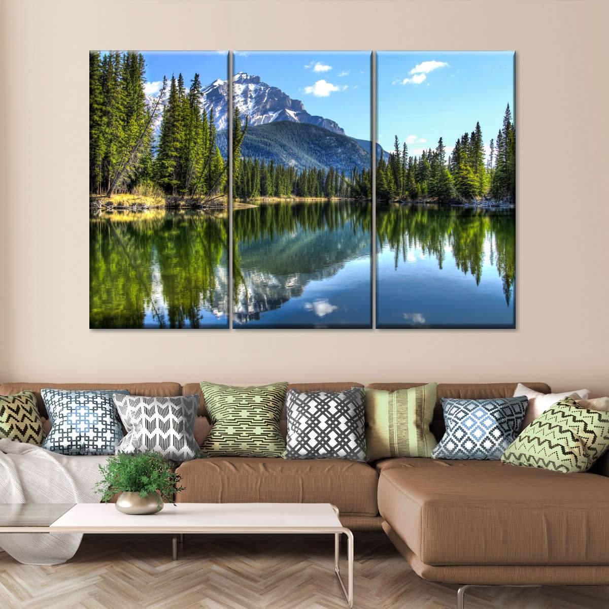 Banff National Park Multi Panel Canvas Wall Art
