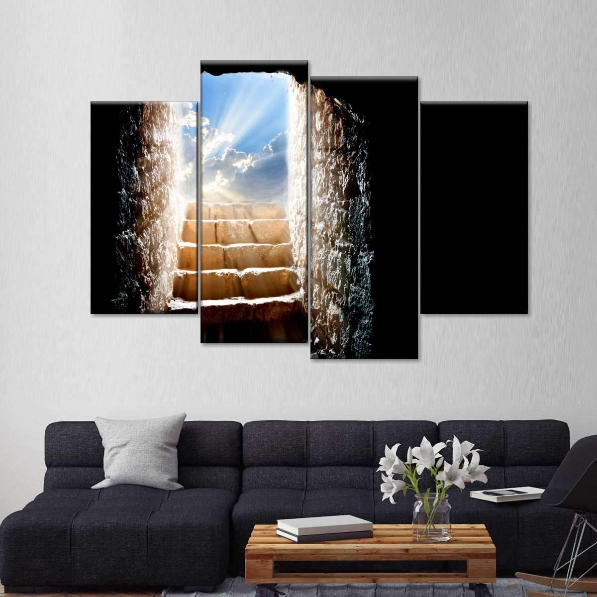 Holy Cave Multi Panel Canvas Wall Art