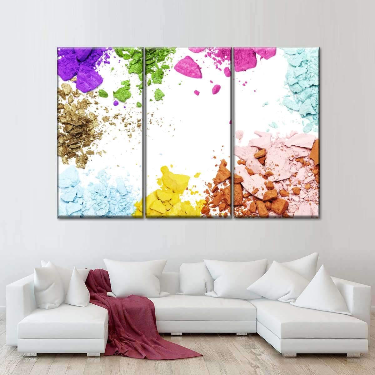 Shimmer Multi Panel Canvas Wall Art