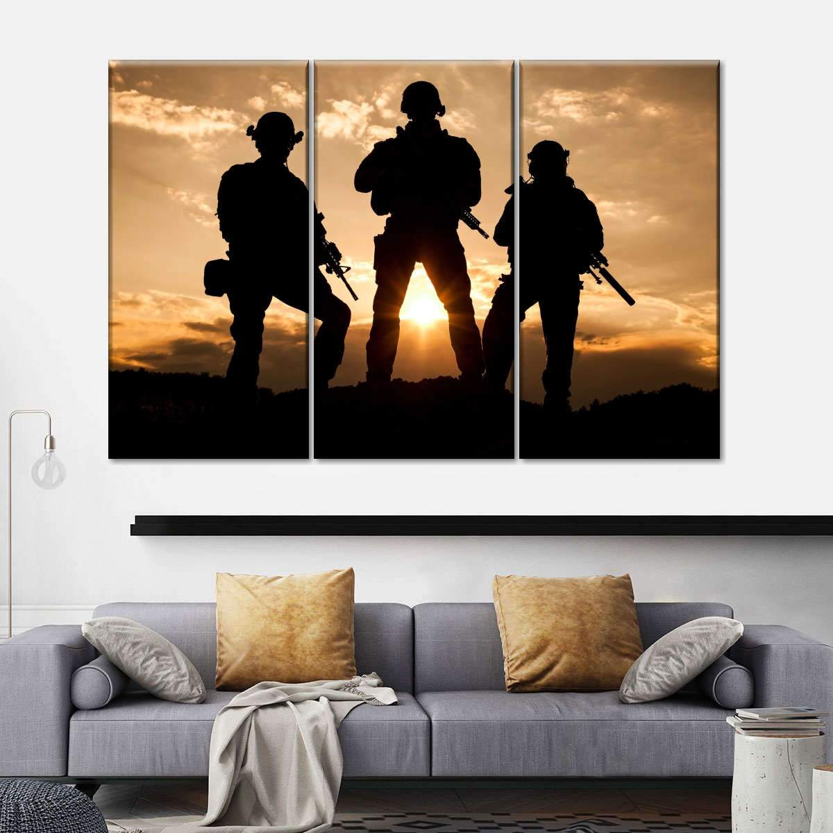 Coming Home Multi Panel Canvas Wall Art