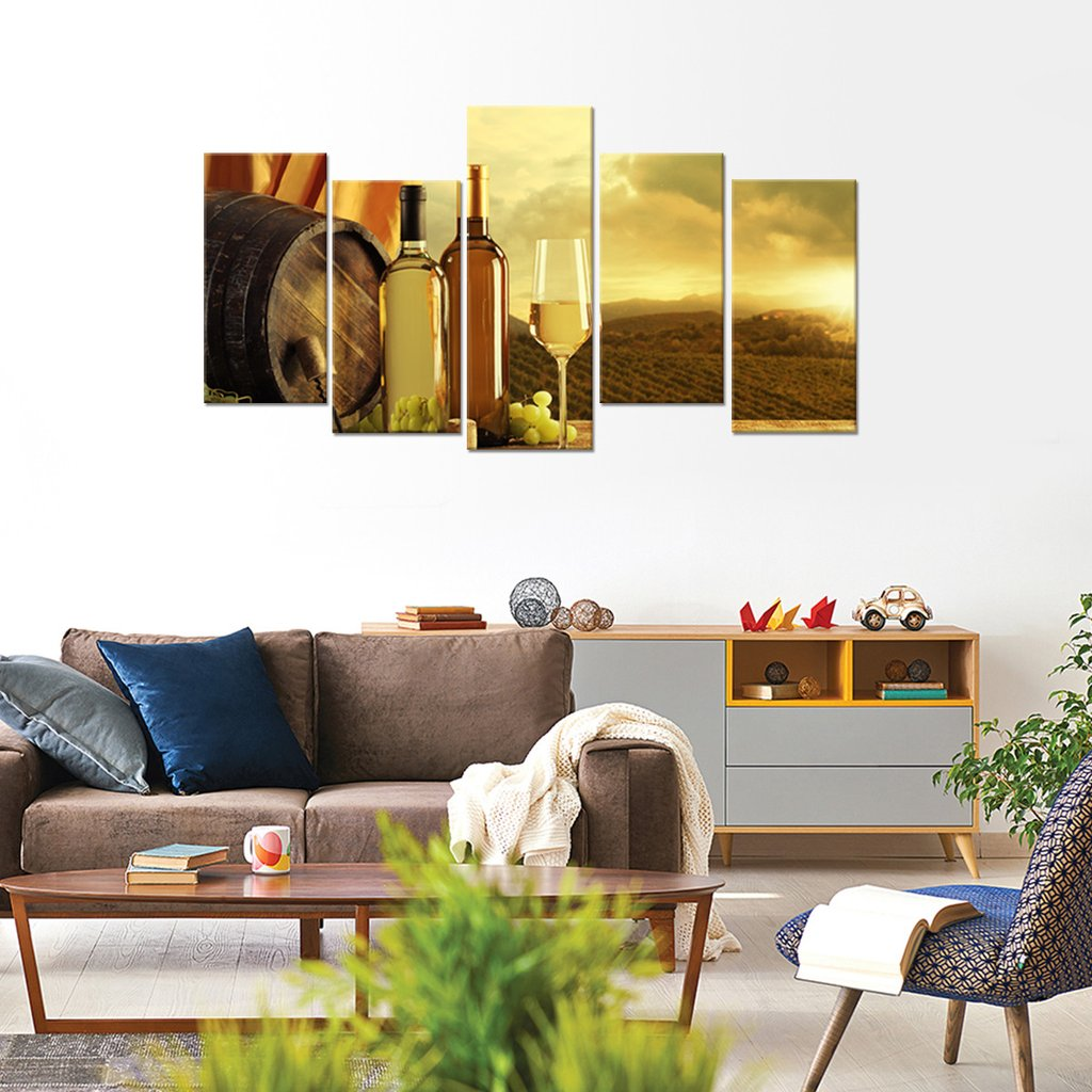 Napa Valley Experience Multi Panel Canvas Wall Art