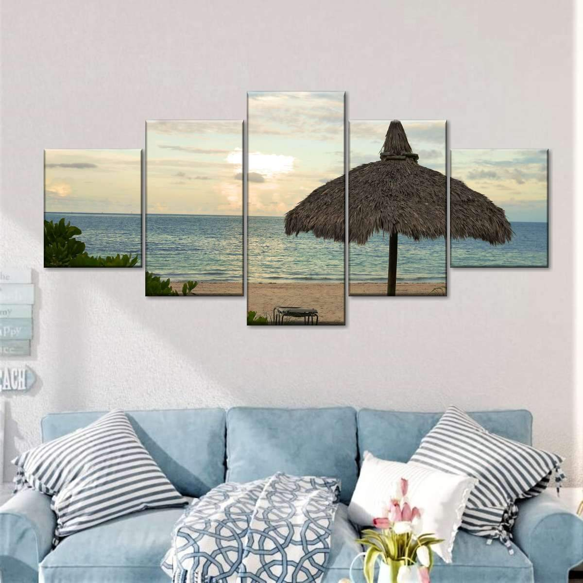 Tamarindo Beach Multi Panel Canvas Wall Art