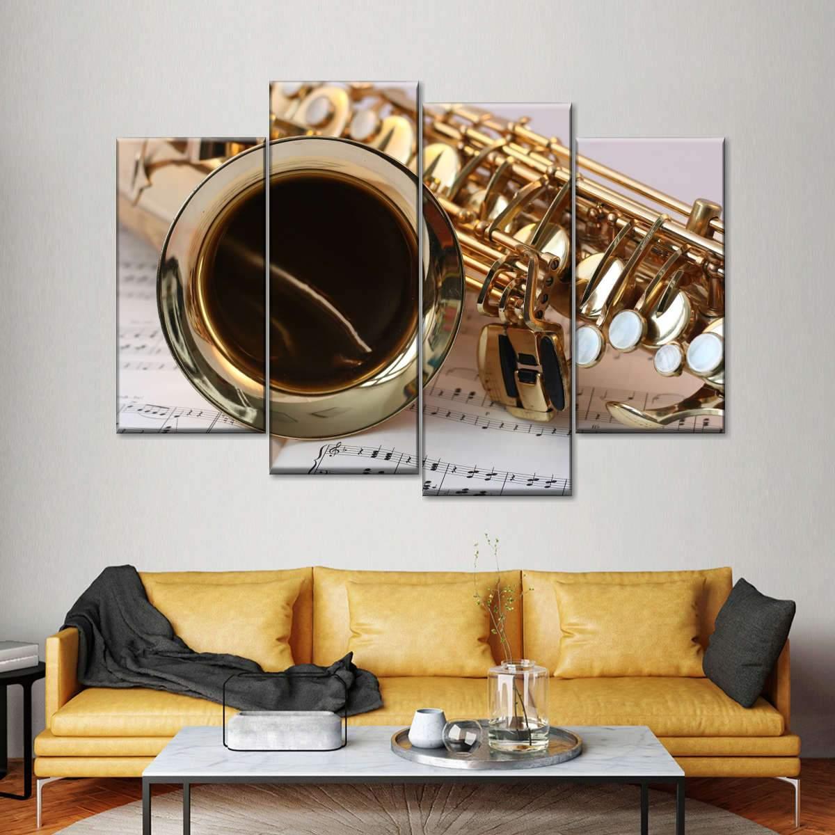 Jazz It Multi Panel Canvas Wall Art