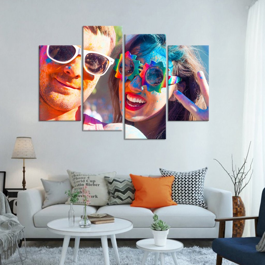 Rave Party Multi Panel Canvas Wall Art